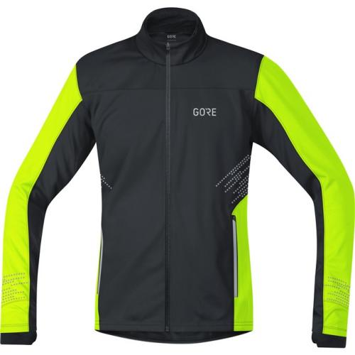 GORE R5 WS Jacket-black/neon yellow