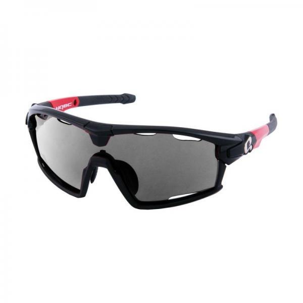 HQBC Okuliare QERT PLUS FF čierne 3v1 + sklo+rámik  f0dafcba100