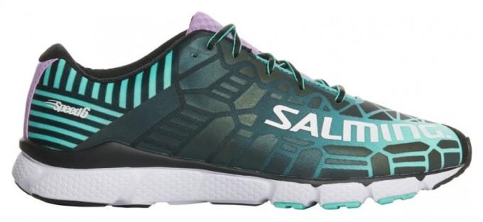 SALMING Speed 6 Shoe Women Green Farba: Green