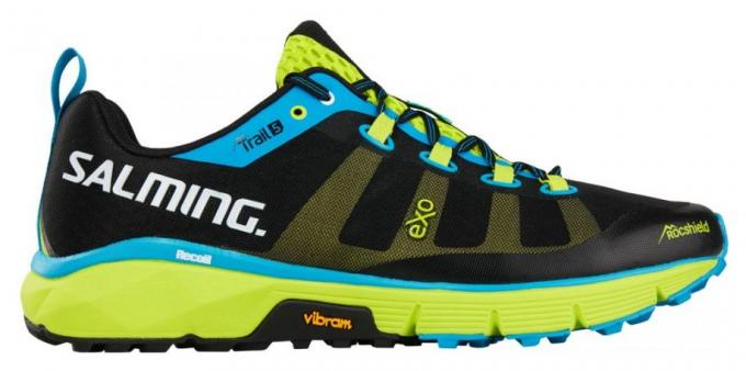 SALMING Trail 5 Shoe Men Black/FluoGreen Farba: Black/FluoGreen