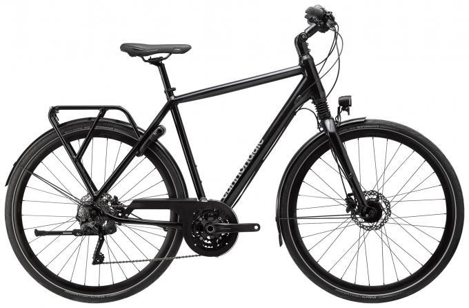 CANNONDALE Tesoro 1 Farba: Black Pearl, Charcoal Grey and Graphite, reflective decal (BPL)